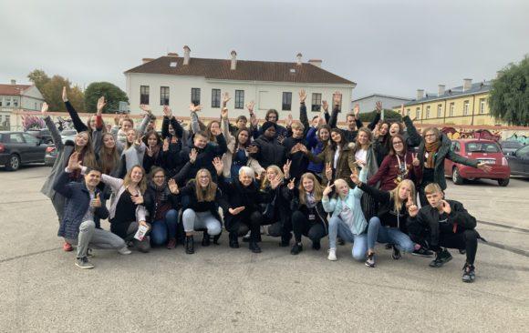 Erasmus an der EKS: Austauschprojekt mit Litauen feiert 1. Geburtstag